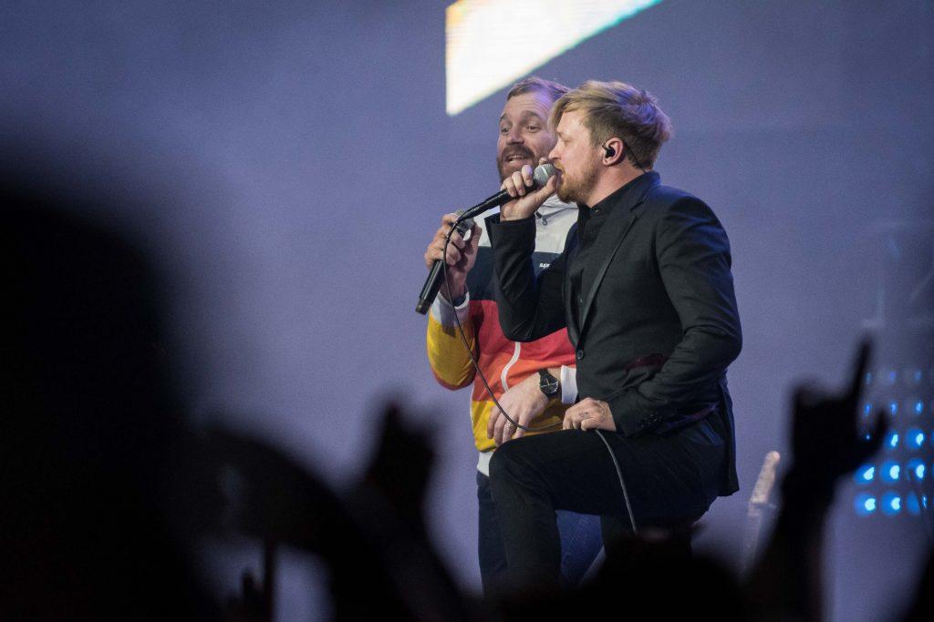 Francois van Coke and Pierre of Die Heuwels Fantasties - photo credit Sean Brand