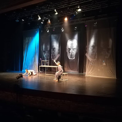 Uit Die Bloute theater production at Innibos 2018 - photo by Small Town Music