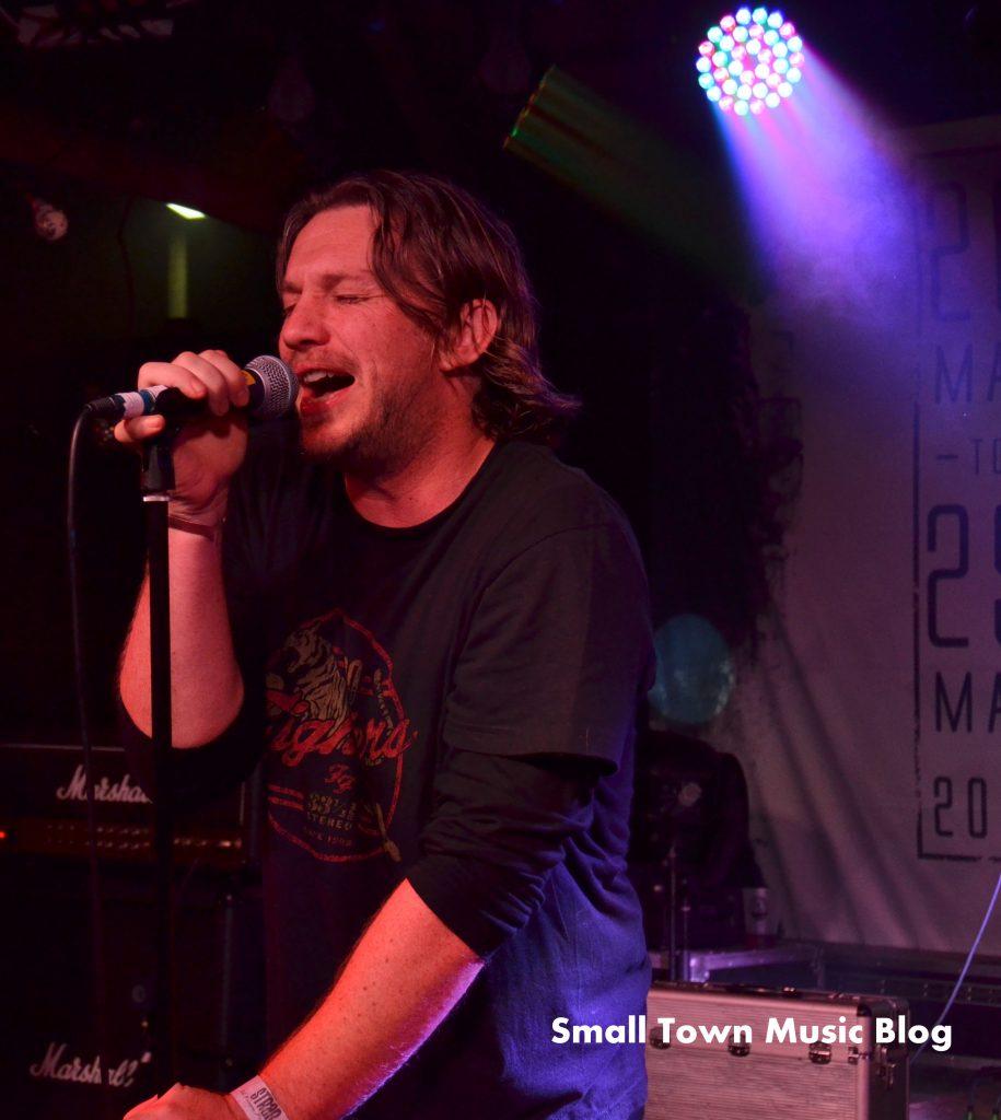 Andrew Duggan of Cutting Jade. Photo credit Small Town Music Blog