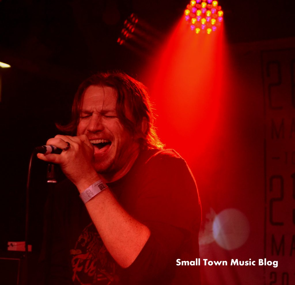 Andrew Duggan of Cutting Jade at STRAB 2016. Photo by Small Town Music Blog