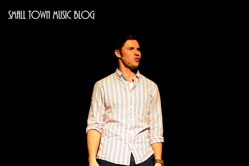 Neels van Jaarsveld (actor) at Innibos Nelspruit - photo by Small Town Music Blog
