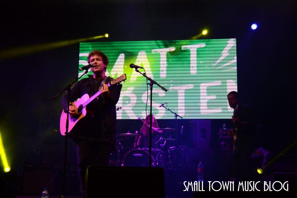 Matt Carstens at Innibos Nelspruit - photo by Small Town Music Blog