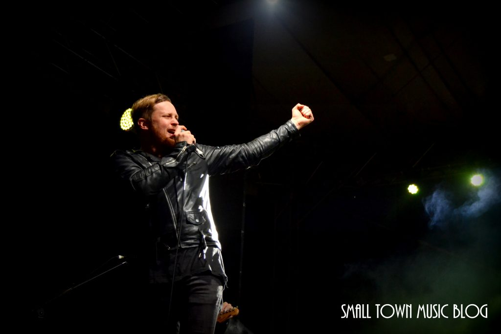 Francois van Coke performing at Innibos 2017 - photo by Small Town Music Blog