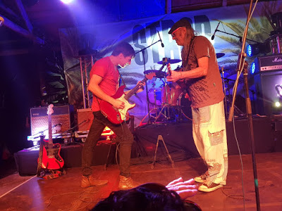 Albert Frost performing with Anton Goosen - photo by Vanessa Massyn for Small Town Music Blog